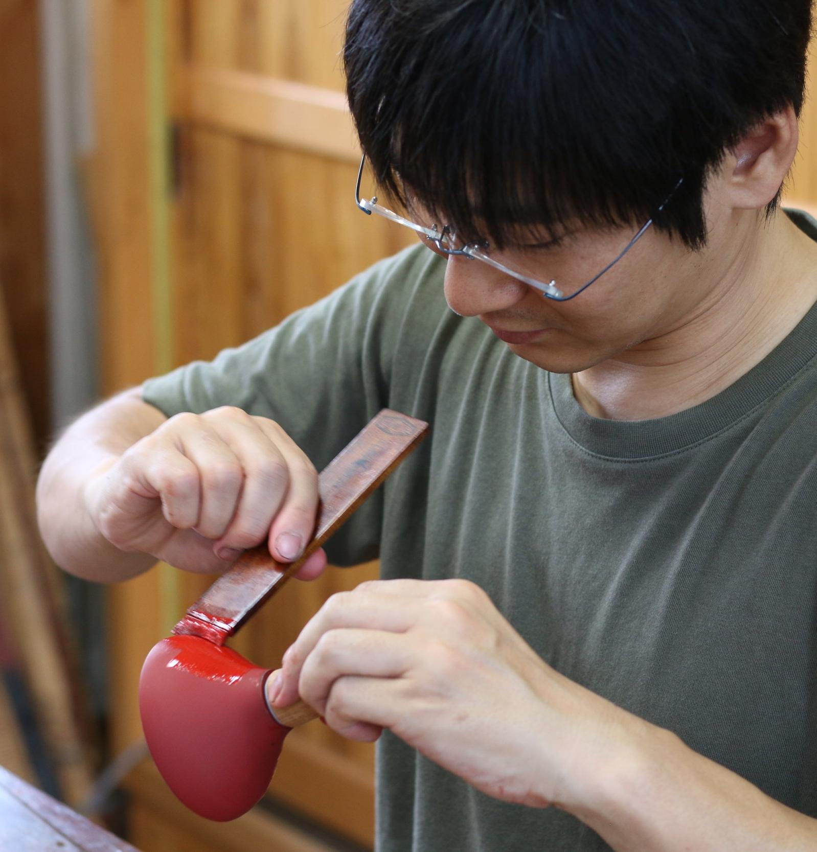 Atelier Takumi _ Craftsman Urushi Japan _ Mitsuhiro Kyoden 1.JPG