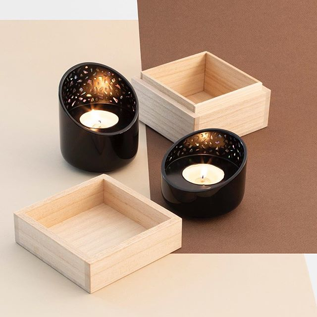 "Rethinking the know-how of one of the major crafts in Japan: the ""Raden"", Orion is a candleholder that enhances the reflective properties of mother-of-pearl. We first wanted to make the simplest object possible to focus on the essential: the beauty of the flame, and the depth iridescence of the inlays contained in the alcove. ⠀⠀ Crafted by @Raden Musashigawa, Designed by @voisinguillemin ⠀⠀ #ateliertakumi #japan #nihon #日本 #orion #candle #candleholder #accessories #motherofpearl #raden #inlay #iridescent #lacquerware #urushi #wood #woodworking @kotaro_92 #takaoka #高岡市 #craft #craftsman #craftsmanship #knowhow #handmade #Voisinguillemin #design #productdesign #frenchdesign #interiordesign #designer #frenchtouch"