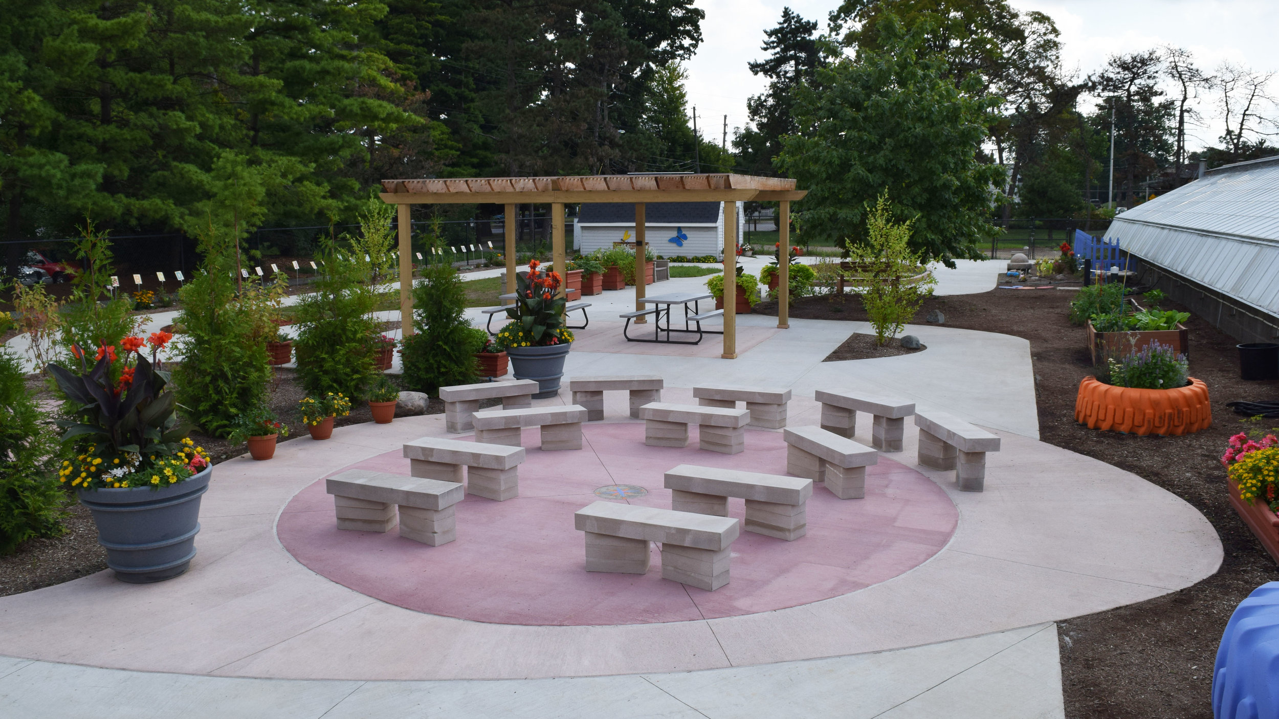 'Fran's Place' Outdoor Learning Area