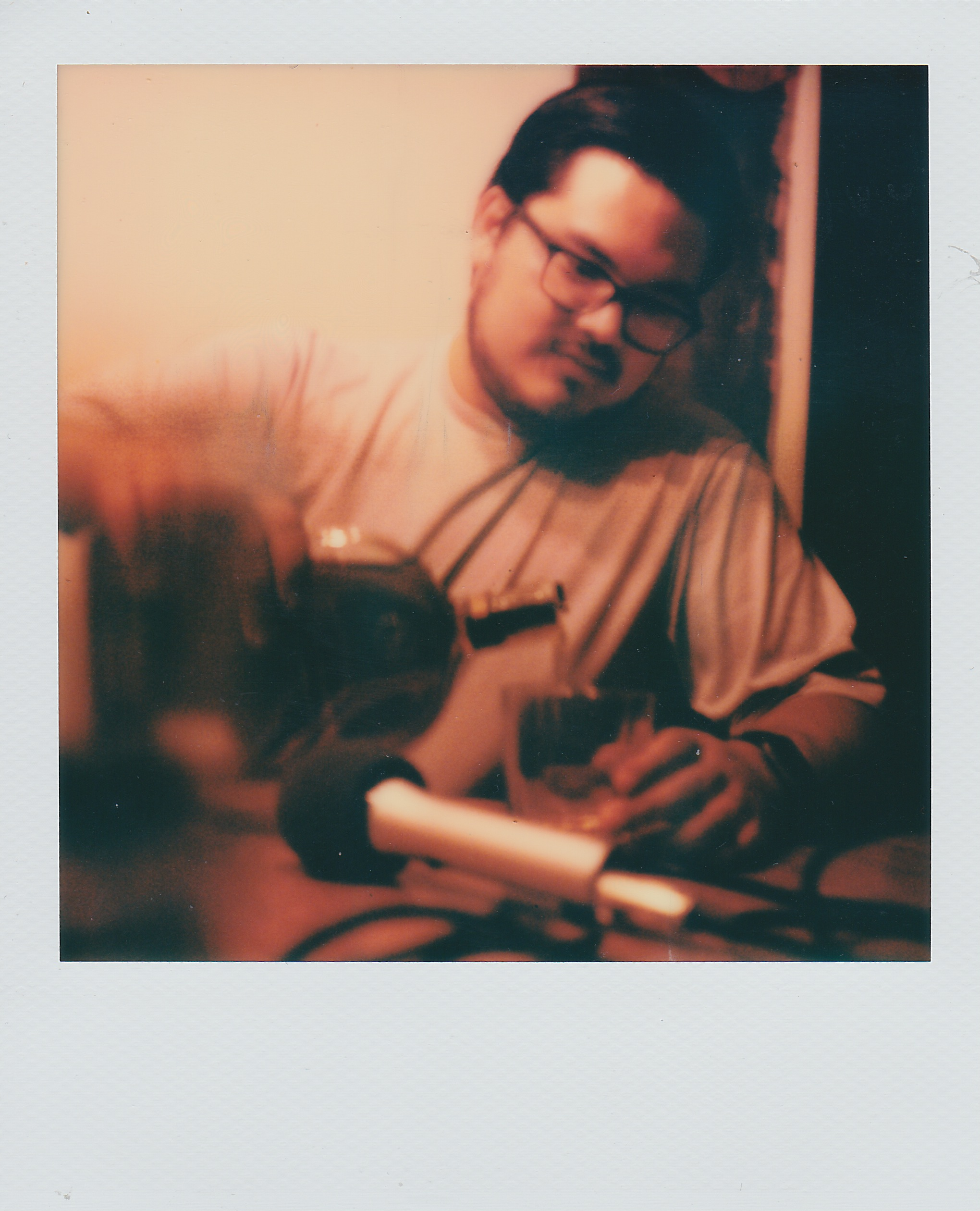 Podcast Polaroid of Greg Steele