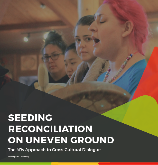 An evidence-based approach to Reconciliation and cross-cultural dialogue for Canada's next 150 years [Photo credit: Fatin Chowdhury]