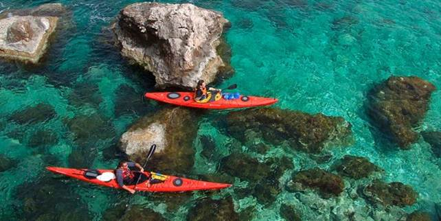 Kayaking - Group Activity
