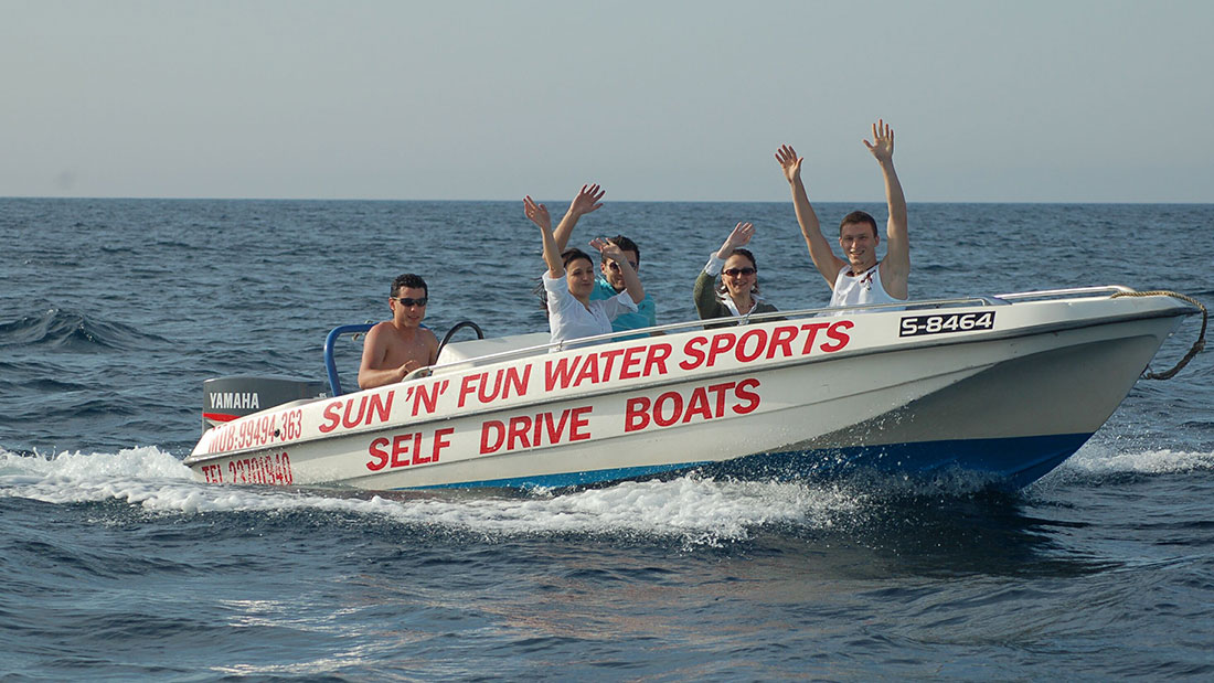 Speed Boat - Group Activity