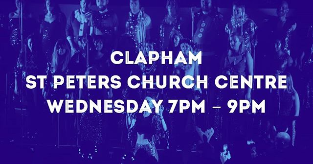 Our Clapham choir starts tonight! It's not too late to get involved - just follow the link in our bio if you'd like to sign up. If you're already locked in, comment below and say hello! #mychoir #wearesomevoices #singingforeveryone