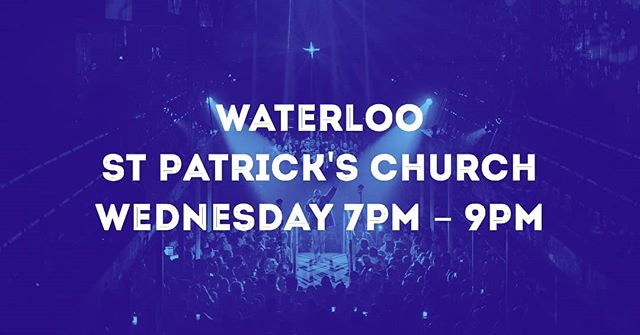Our Waterloo choir starts tonight! It's not too late to get involved - just follow the link in our bio if you'd like to sign up. If you're already locked in, comment below and say hello! #mychoir #wearesomevoices #singingforeveryone #waterloowednesdays