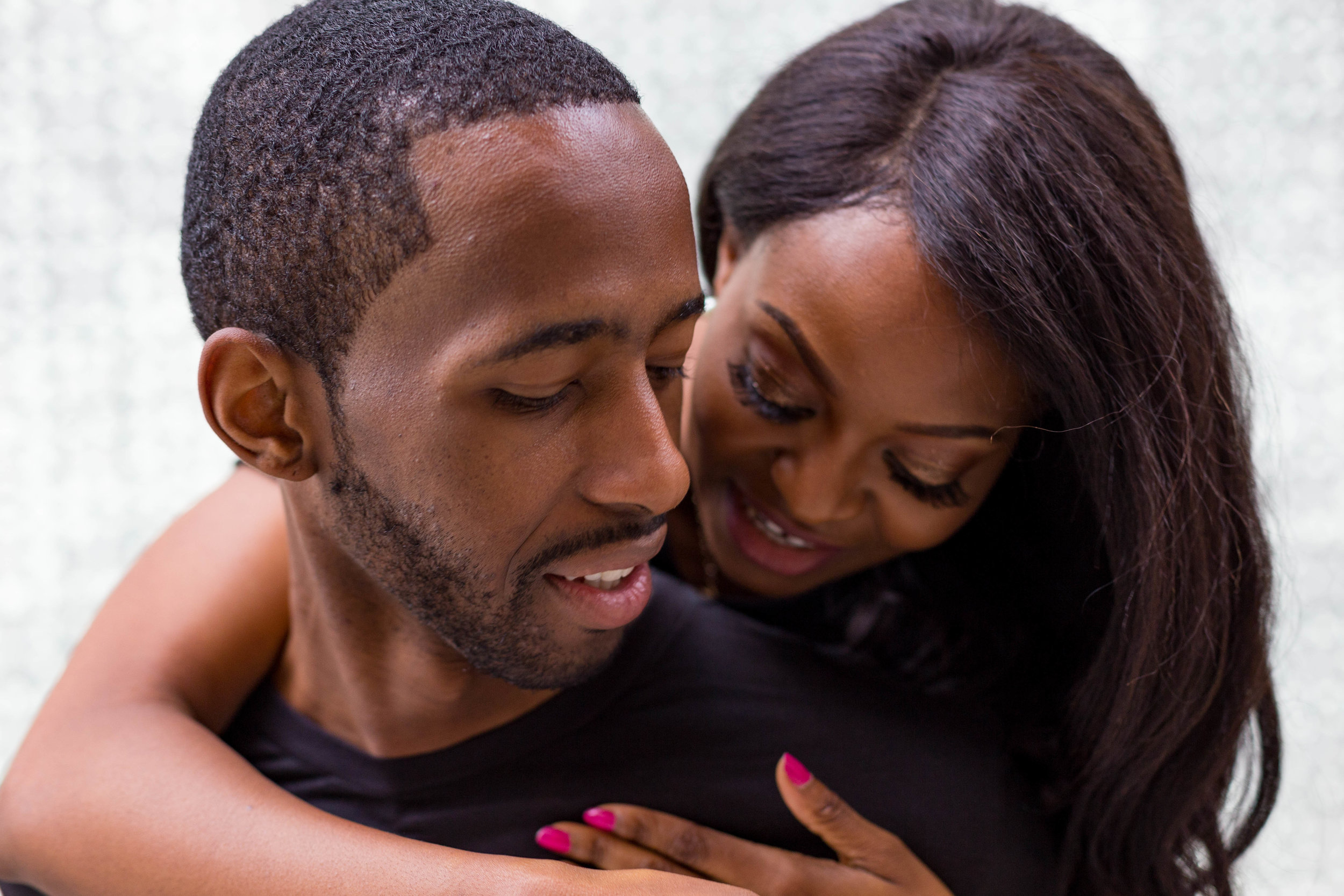 Black Couple Engagement Session Washington D.C.