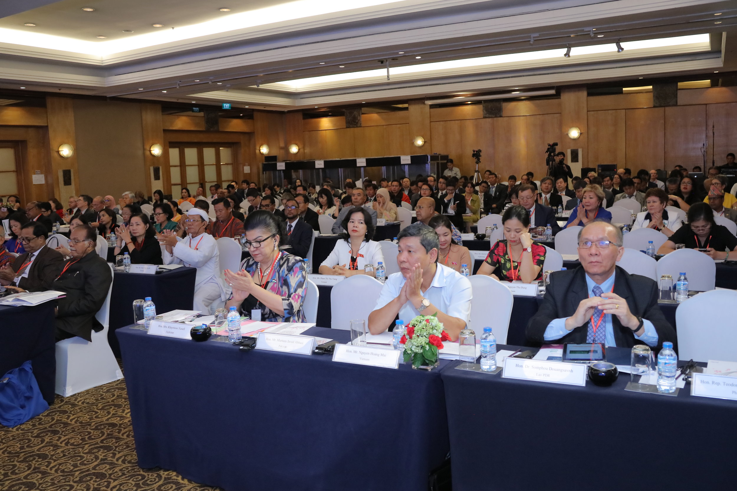 The event drew 260 people from 27 Asian economies