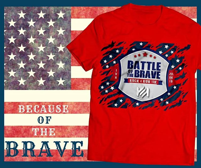 On July 4th 2019 🇺🇸 the nation will be in celebration as we appreciate 243 years of freedom.🎆 On July 6th, we'll be honoring their memory with a Meaningful experience like no other. 🇺🇸 The Battle of the Brave | Ruck & Run 10K allows you to honor your current and past soldiers and Veterans  in your own way: with a 10K Ruck or Run, or 5K Run or Walk. However you honor them, you'll NEVER FORGET. 🇺🇸