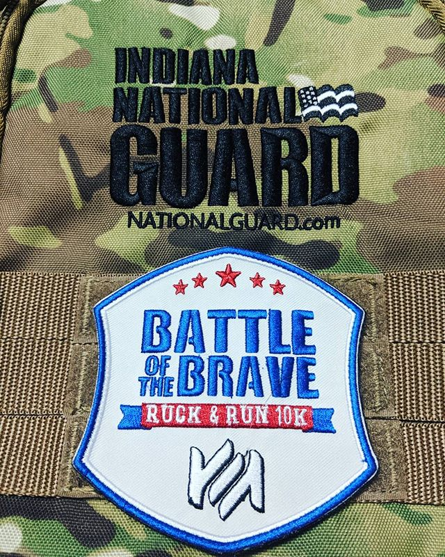 Need another reason to try your luck with the Ruck🎒? How about this custom Ruck Patch! Earned by every person who Rucks the 10K. Easily attached to any rucksack with a vecro backing.  The Ruck weight is 25 lbs. The distance is 6.2 miles. The strife is temporary. The accomplishment is forever.  Battle of the Brave | Ruck & Run 10K.  https://battleofthebrave.itsyourrace.com/register/  #Ruck #Patch #ruckpatch #rucking #10K #velcro #earned #earnednotgiven #weight #packing #Meaningful #Engaging #Memorable #running #run #walk #onlyeasydaywasyesterday #nationalguard #military #army #navy #LafayetteIN #Lafayette #veterans #veteran #BattleoftheBrave #BotB