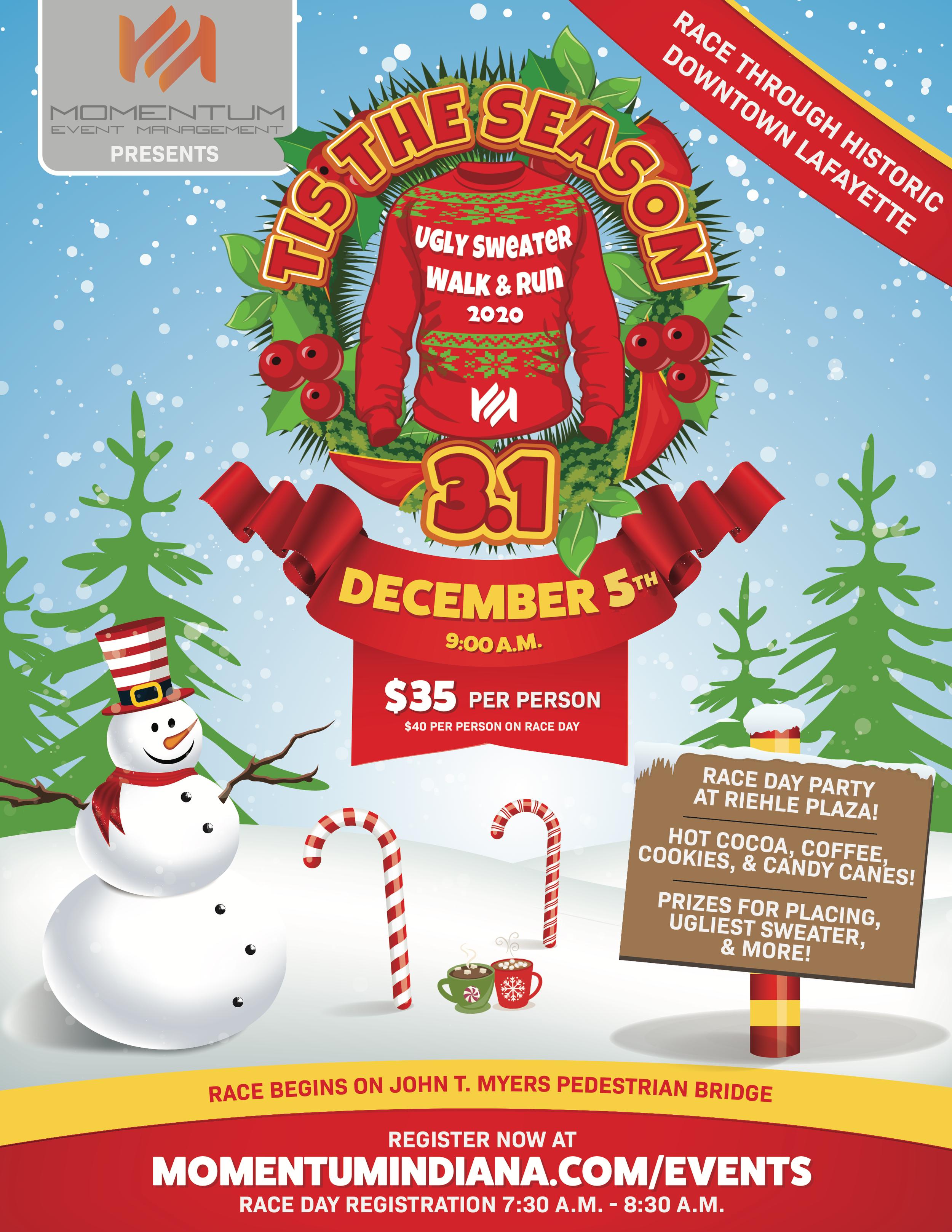 2020 Downtown Christmas Walk: Vendor Registration Tis the Season 3.1 — Momentum Events