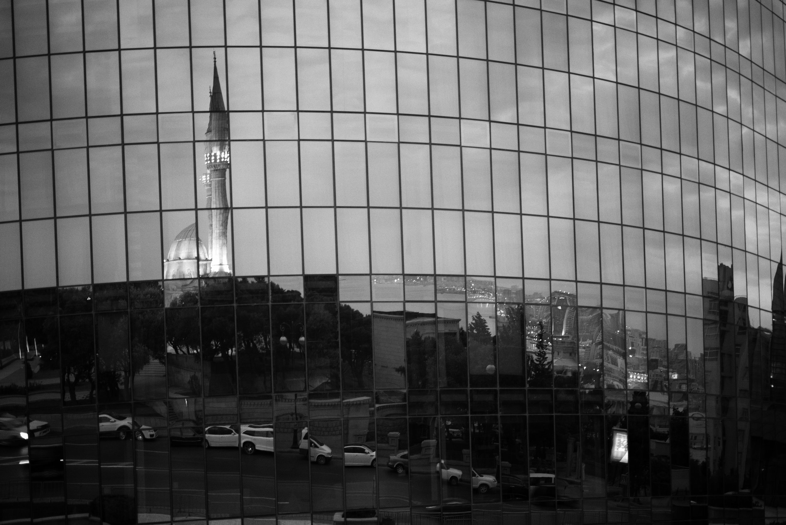 Reflections in a flame Baku, Azerbaijan Leica M (Typ 246) 50mm f/2.0 APO Summicron © Keith R. Sbiral, 2018