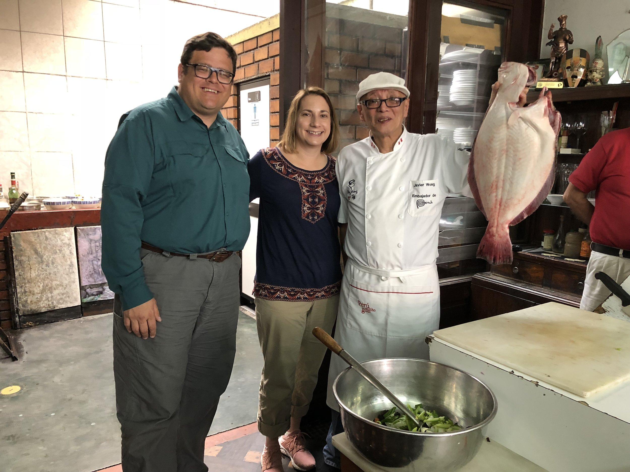 Chef Wong Chez Wong Lima, Peru