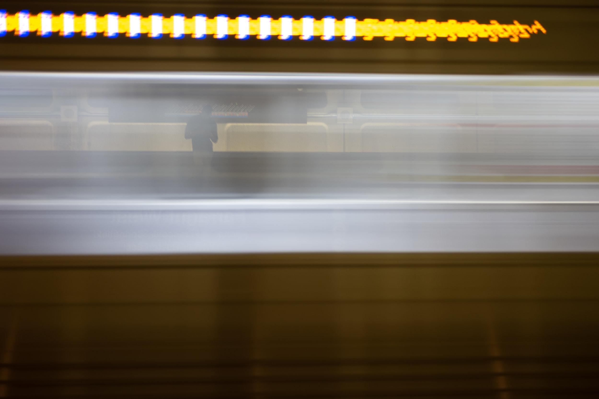Train Man Washington, DC, USA Leica SL 50mm f/2.0 APO Summicron © Keith R. Sbiral, 2018