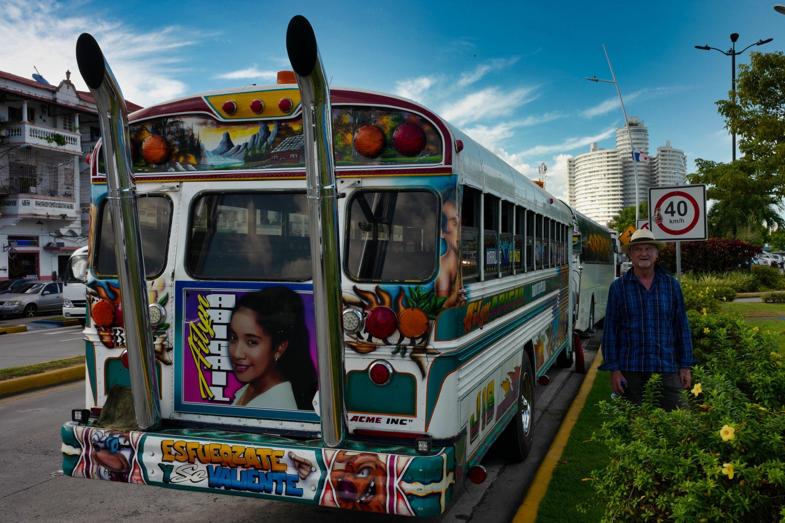My Bus Panama City, Panama Leica SL 35mm f/1.4 FLE Summilux © Keith R. Sbiral, 2018