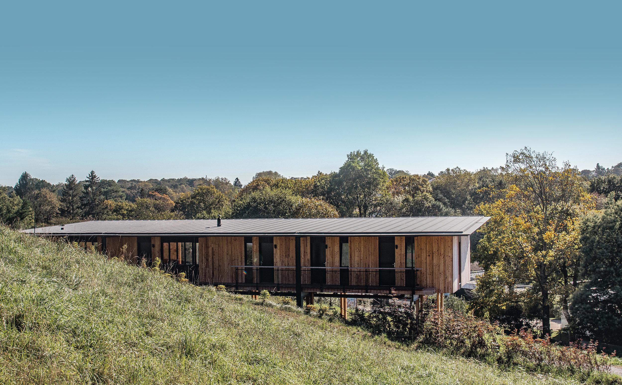 maison écologique - carole magot - beltza-architecture.com - biarritz - CLT - mélèze