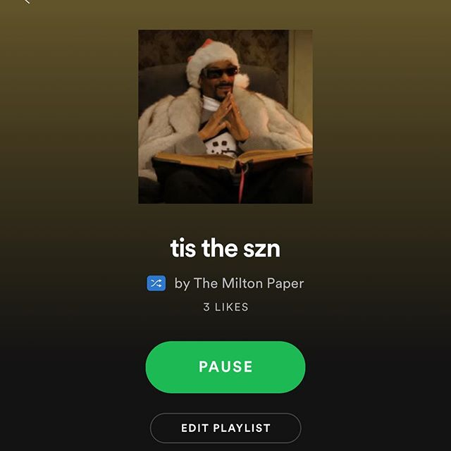 ho ho ho!!! get in the holiday spirit by following our holiday playlist on Spotify!