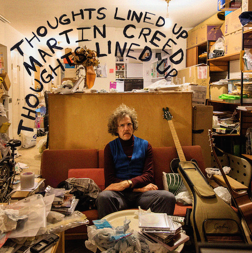 Martin Creed - Thoughts lined up - 2016 - Engineer and rhodes