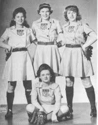 women's baseball players old fashioned.jpg