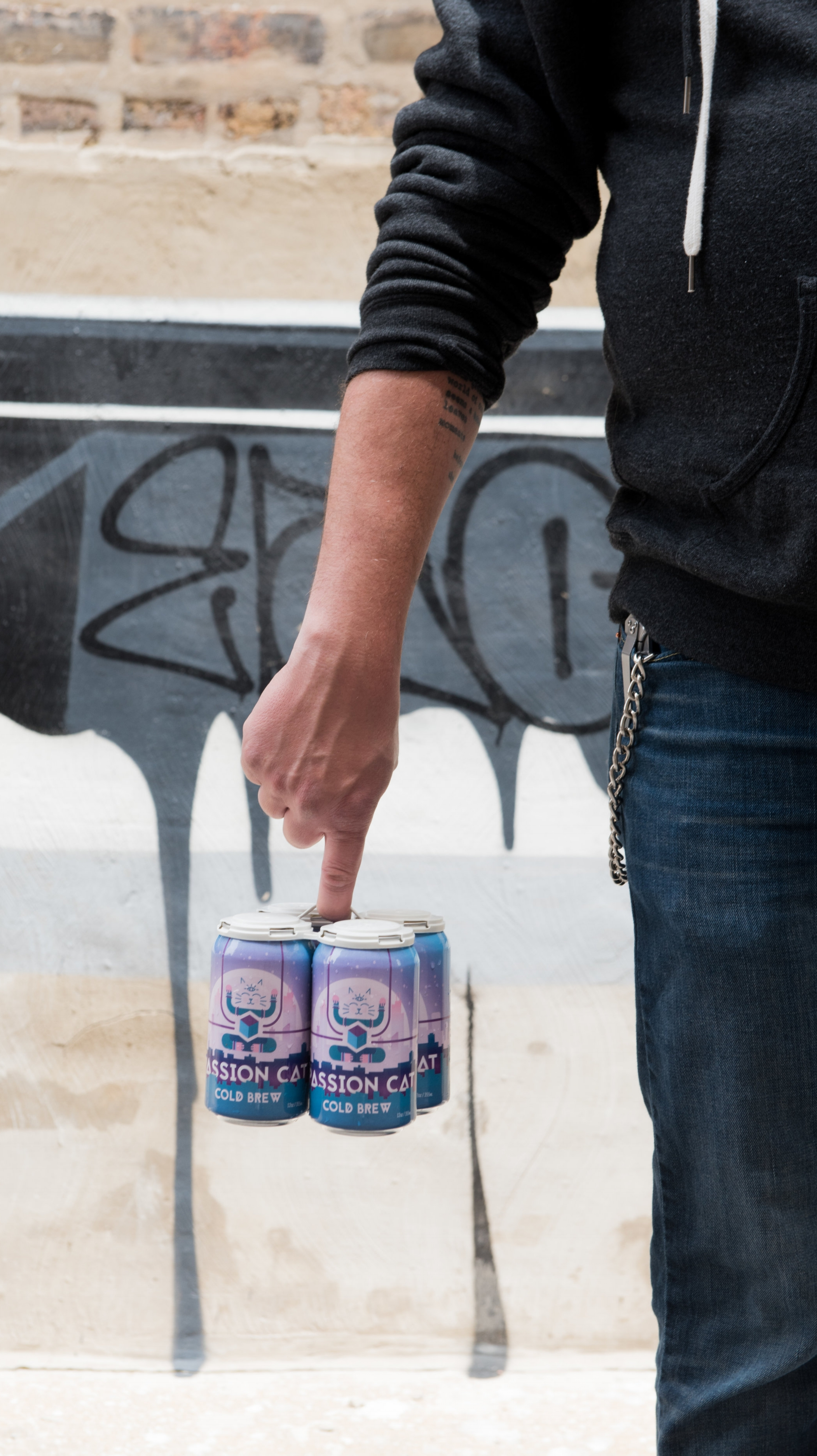 Canned Cold Brew - The perfect choice for grab-and-go service, canned cold brew gives drinkers the opportunity to stash a cold one in their bag when they're on the run, or grab a few extras to keep in your fridge at home.