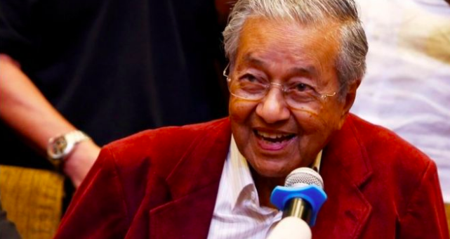 Prime Minister Mahathir Mohamed. Source: Reuters