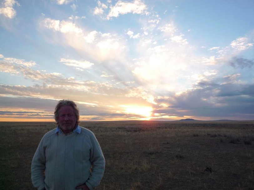 Chris in the Gobi Desert
