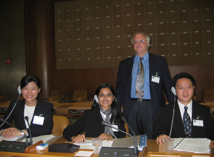 Academic Advisor/Coach, ELSA WTO Law International Moot Team, The University of Hong Kong Faculty of Law, in the WTO Assembly Hall, Geneva, Switzerland – ELSA Grand Final
