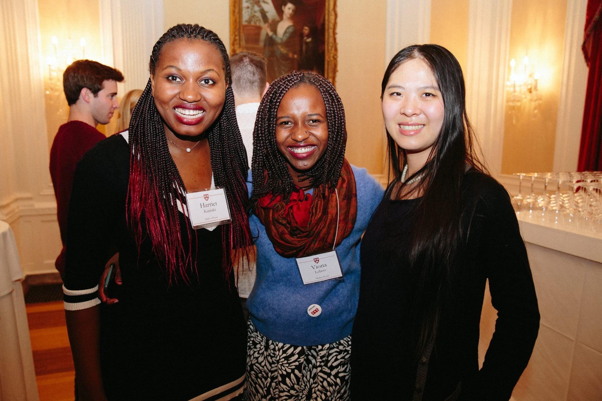 Reception at Harvard University