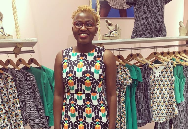 Researching East African Fashion at local stores in Nairobi in Kenya