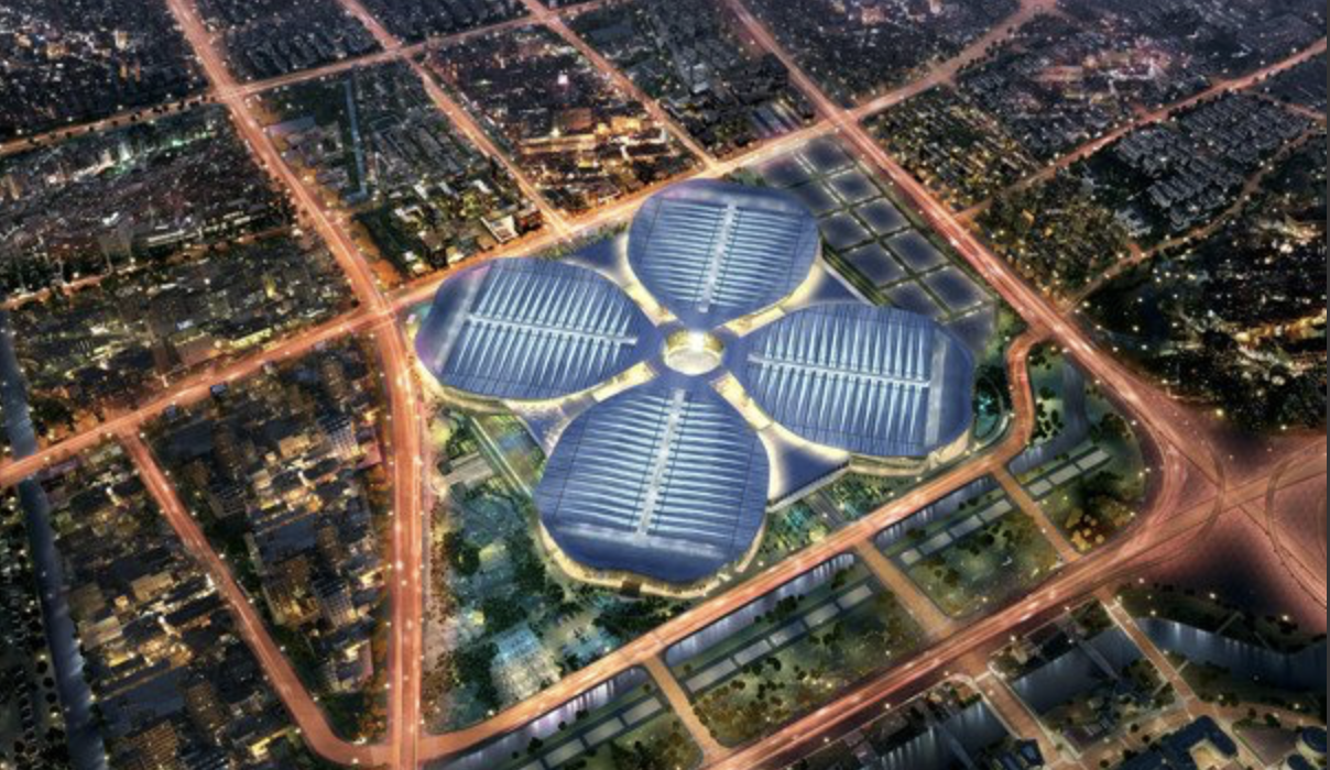 Venue of China International Import Exposition Source: Chinagoabroad.com