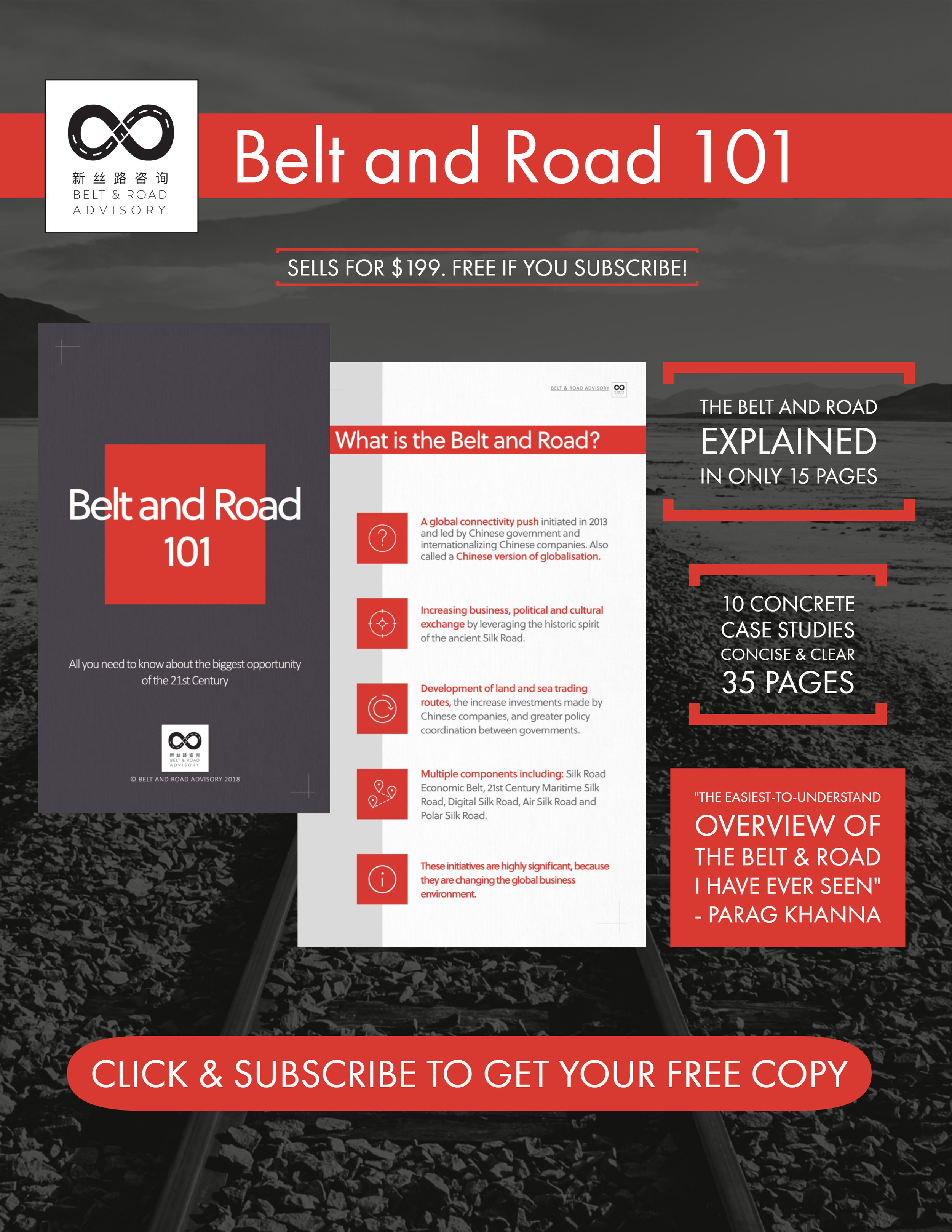 All you need to know about the biggest opportunity of the 21st century - Never Before has the Belt and Road been explained in 15 easy to understand pages!With 10 detailed case studies and a total of 50 pages, this report is the most concise and easy to digest overview of the Belt and Road Initiative you can find.This training booklet seeks to help you and your company understand what the Belt and Road Initiative (BRI) is and how to tap into the opportunities it offers.Think of it as a concise and practical guide to the BRI that is free from political slogans and enables you to understand the initiative; facilitating your engagement with it in a way that benefits you and your company.