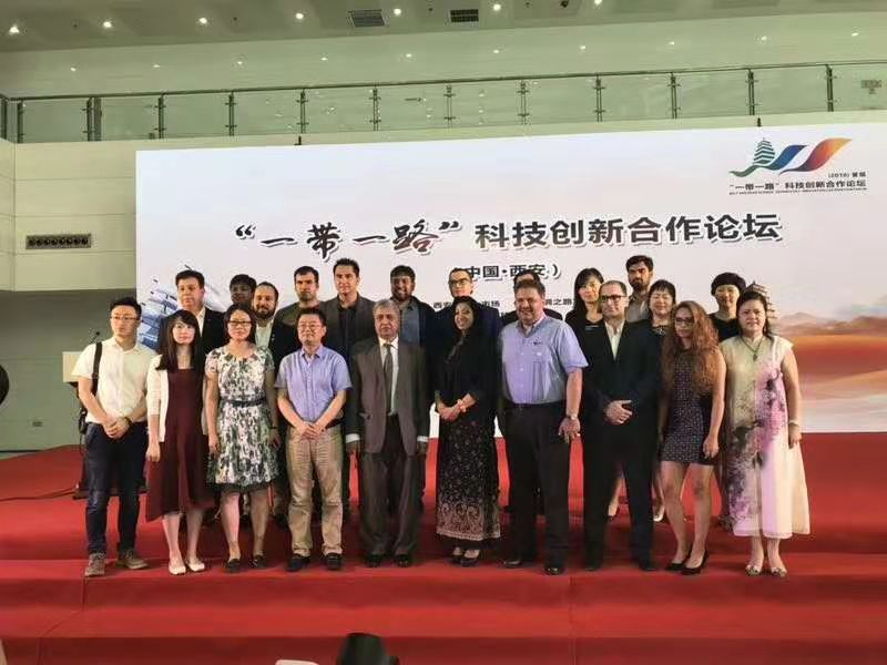 Organizing first Xi'an Belt and Road Science, Technology and Innovation Cooperation Forum, together with Xi'an Government and local partners.