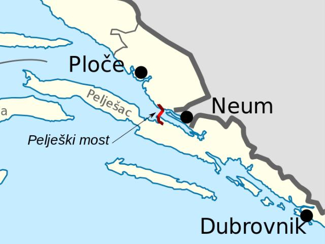 Pelješac Bridge project