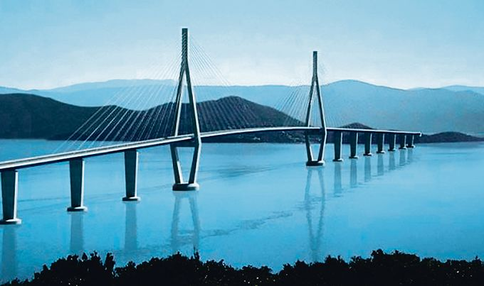Pelješac Bridge project