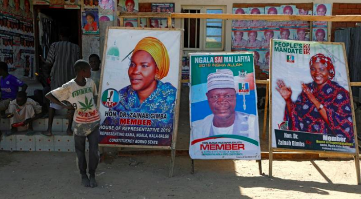 Nigeria prepares for elections on February 16 2019. Source: [Al Jazeera/Afolabi Sotunde/Reuters]