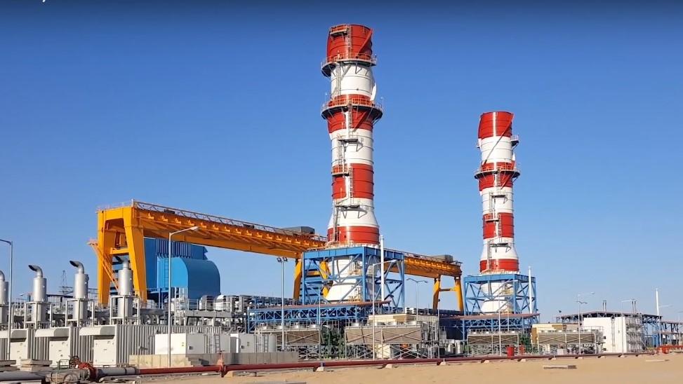 450MW simple cycle gas turbine power plant in Biskra province, Algeria - 2015.jpg