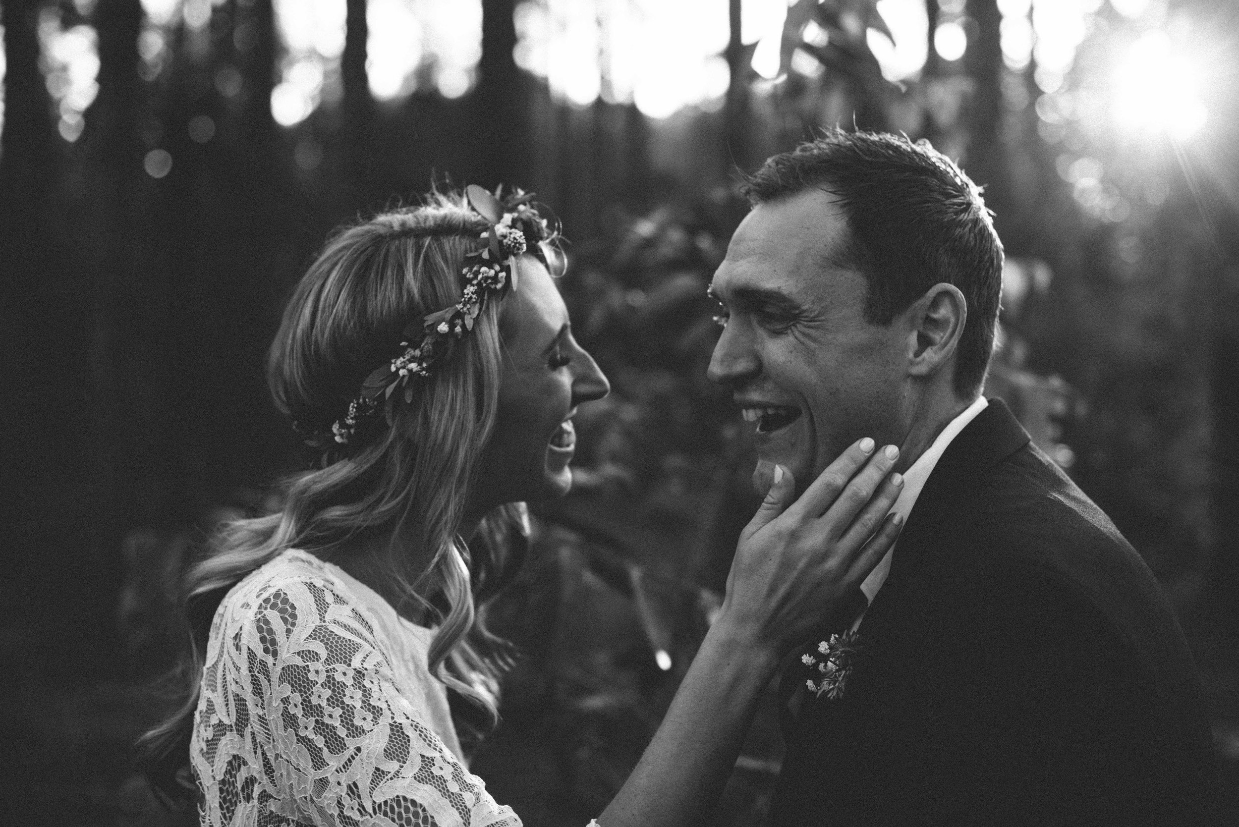 Isaac and Michelle - Pine Trees, an old barn,  a combi and a beautiful couple! What an afternoon spent with these two!