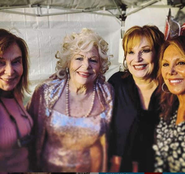 Elaine May, Renée, Joy Behar, Marlo Thomas