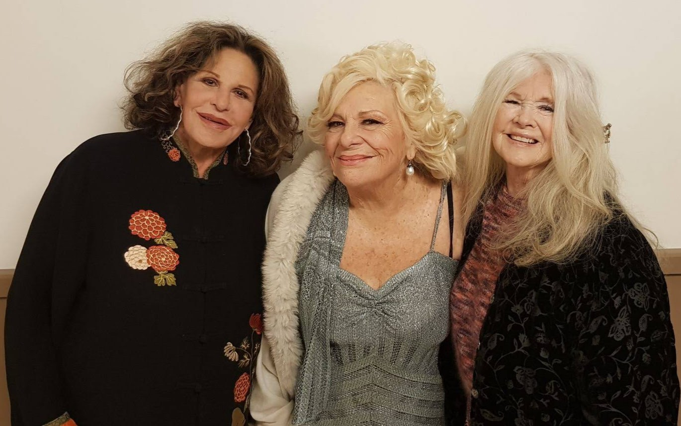 Lainie Kazan, Renée Taylor and Connie Stevens