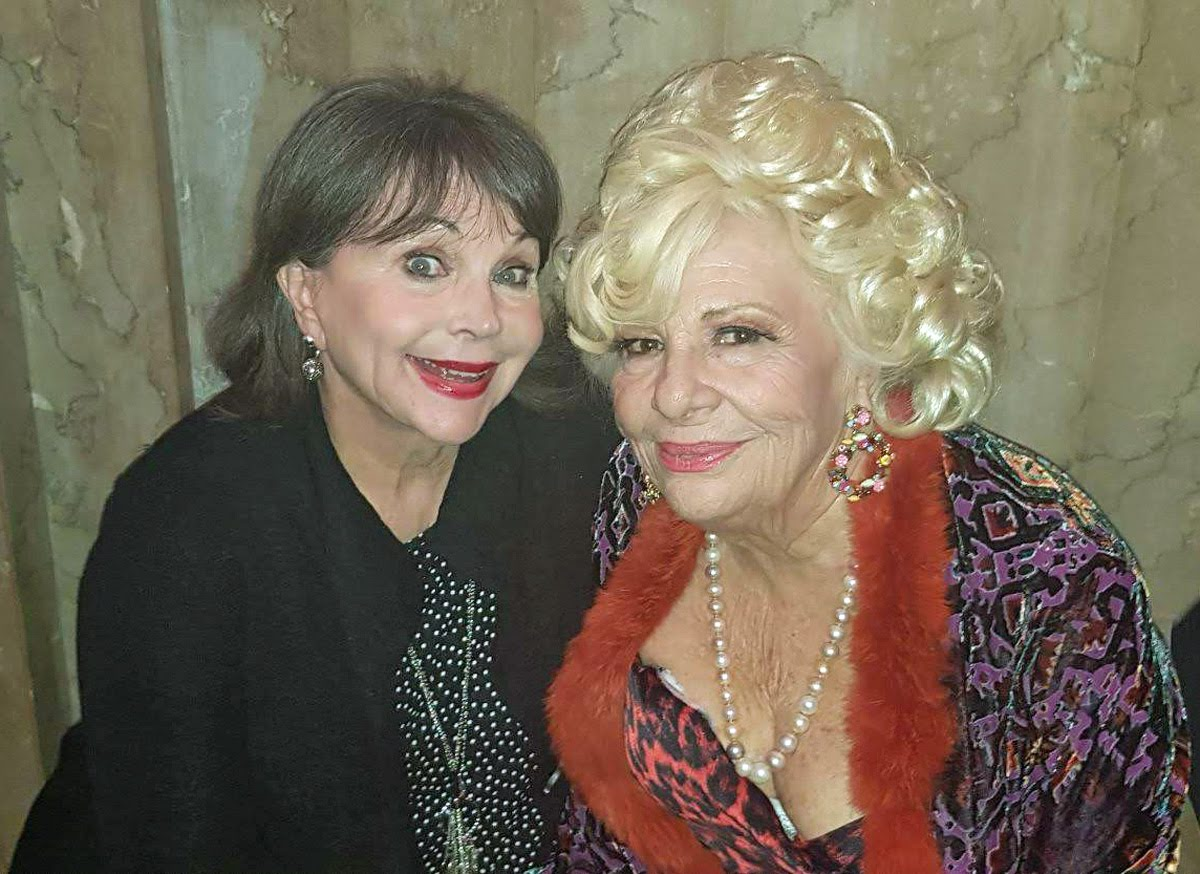 Cindy Williams and Renée Taylor