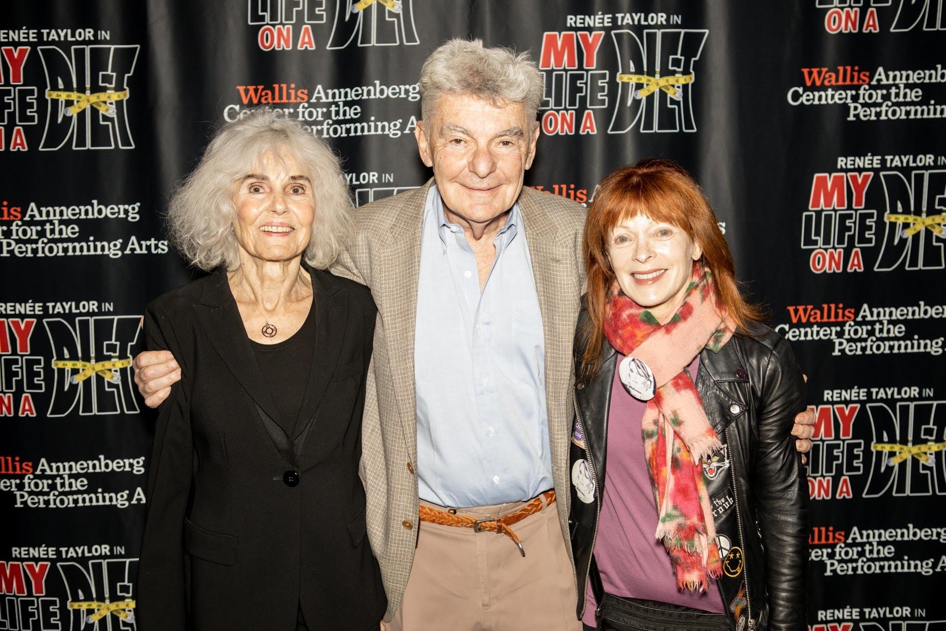 Paula Prentiss, Richard Benjamin and Frances Fisher