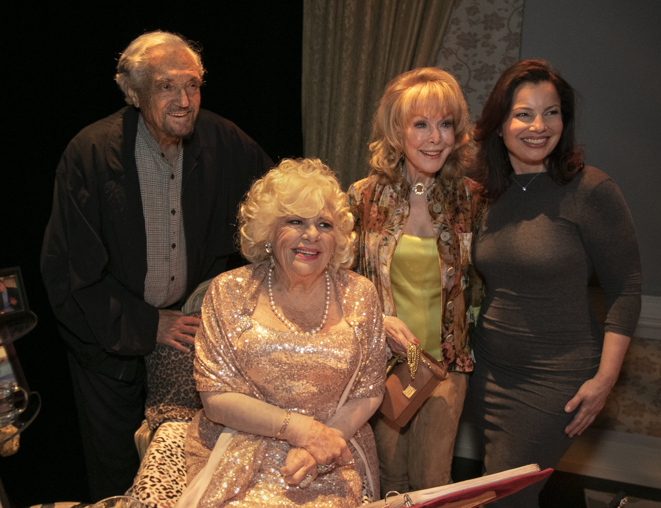 Hal Linden, Renée Taylor, Barbara Eden and Fran Drescher