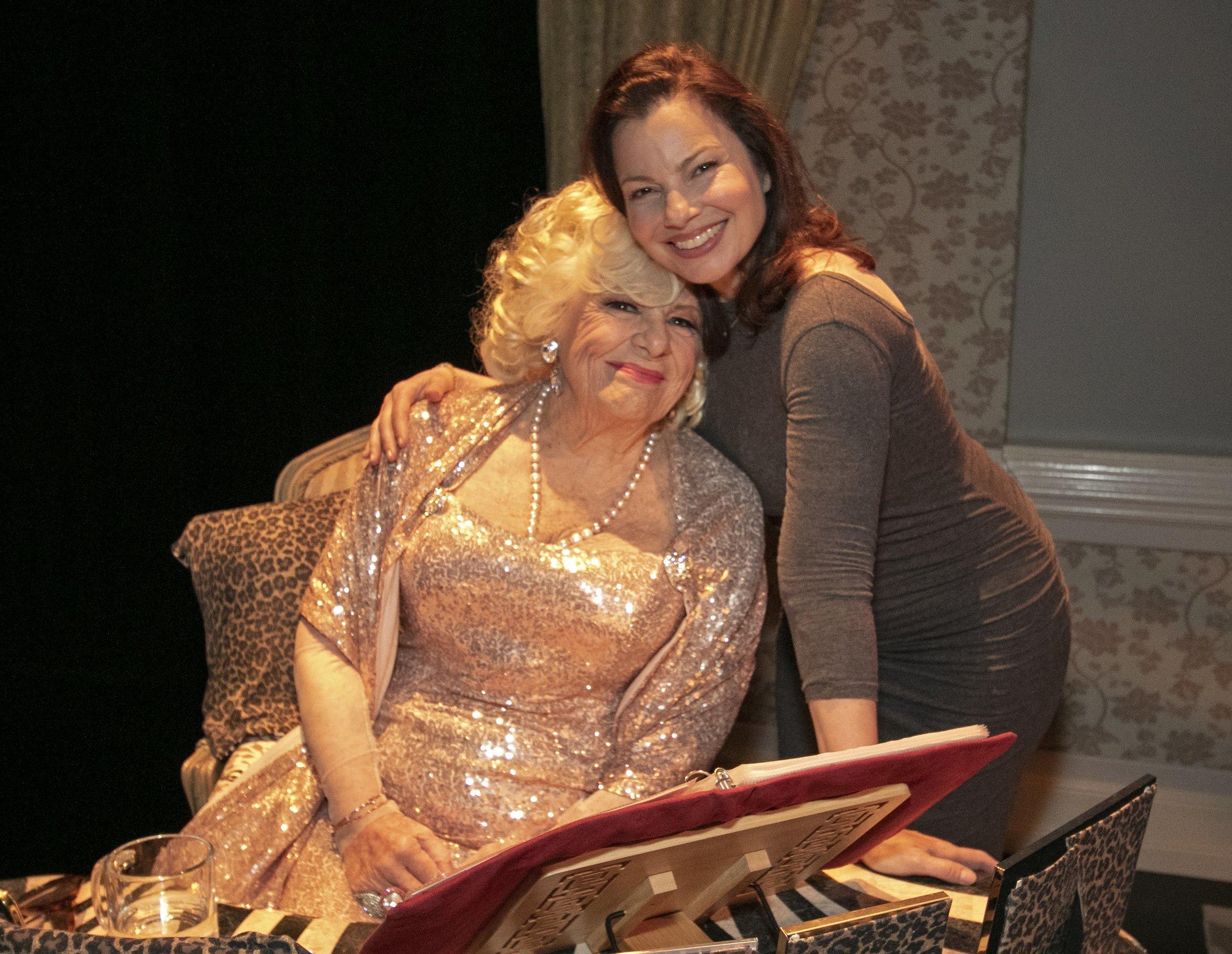 Renée Taylor and Fran Drescher