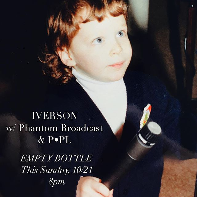 1st show w/ our new lead vocalist, 3yr old Charles Iverson, IVRSN at 9p SHARP 🗡 @thephantombroadcast_ @p.pl.p.pl #weareiverson #chicagomusicscene #chicagomusic #synthpop #altpop #synth