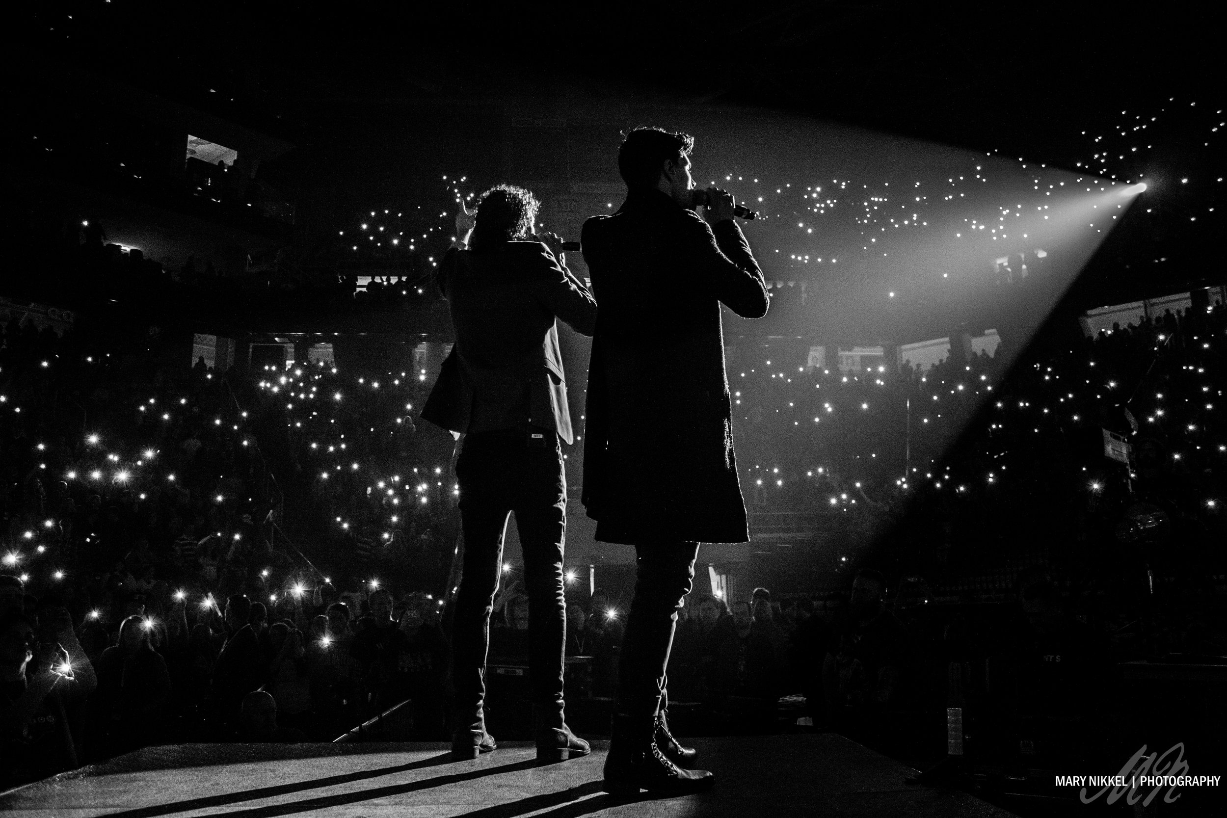 for KING & COUNTRY, photographed on Winter Jam tour 2015