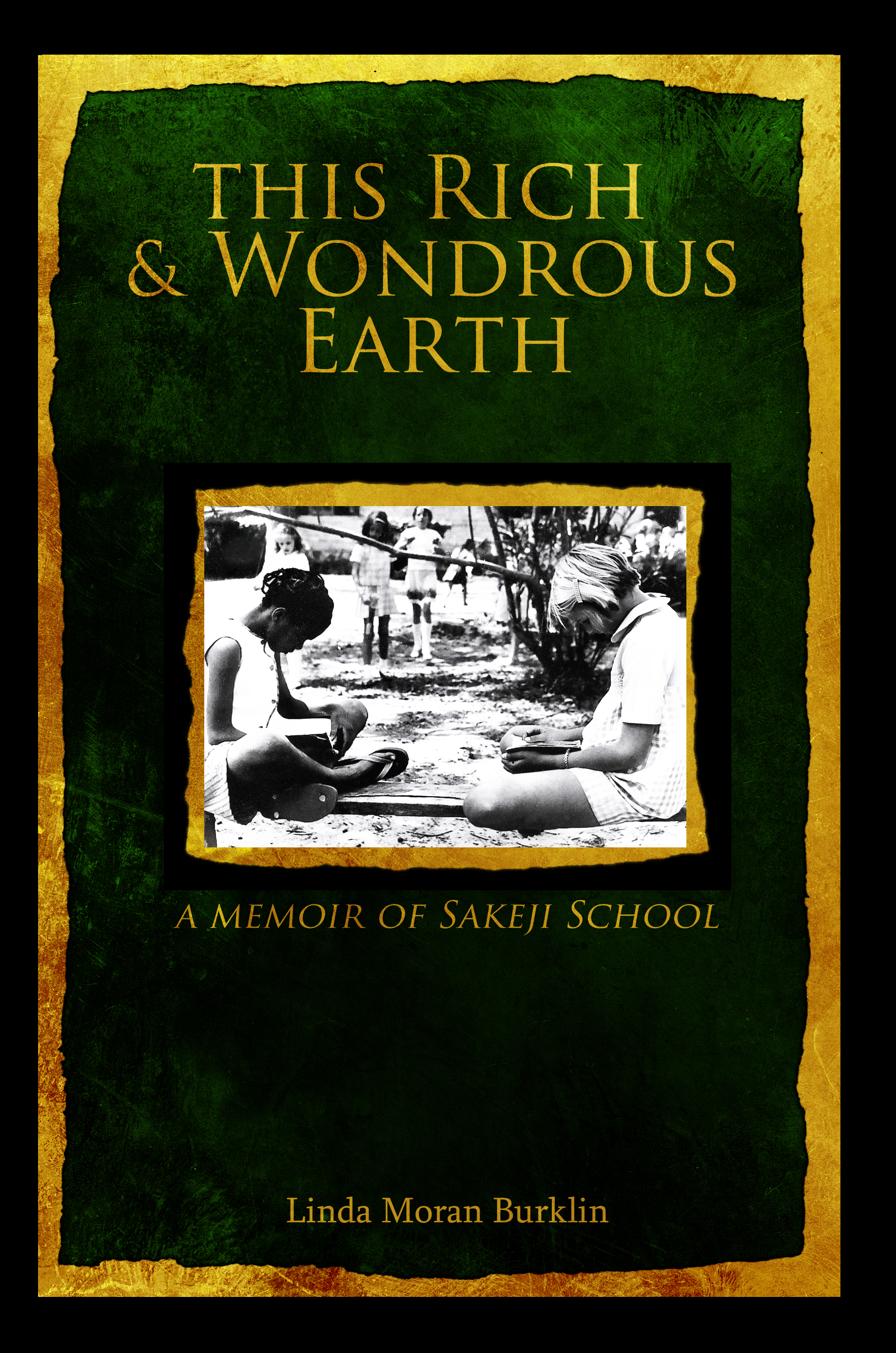 Book cover for  This Rich and Wondrous Earth  by Linda Moran Burklin ( click here  to view it on Amazon)