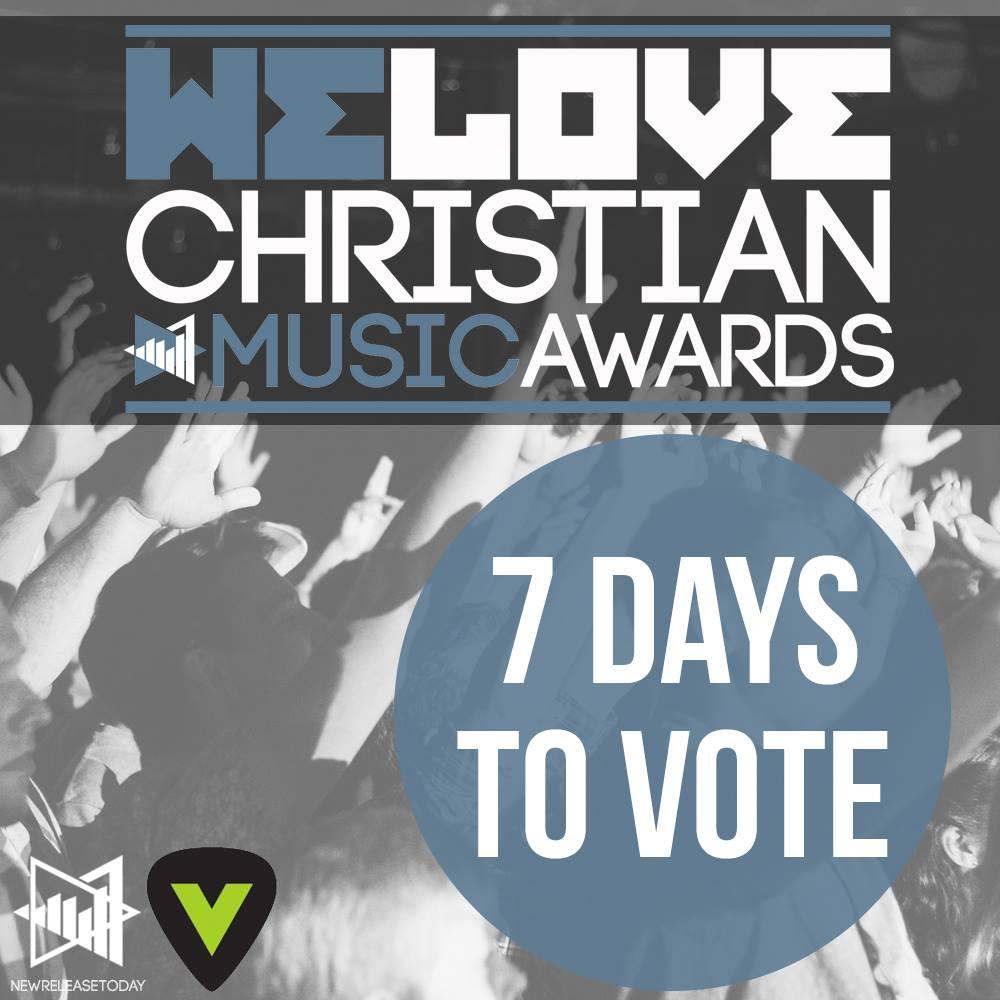 Social media imaging support for the We Love Christian Music Awards