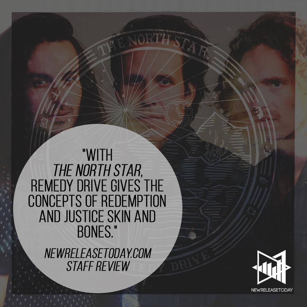 Image highlighting an album review for Remedy Drive's 2018 album  The North Star