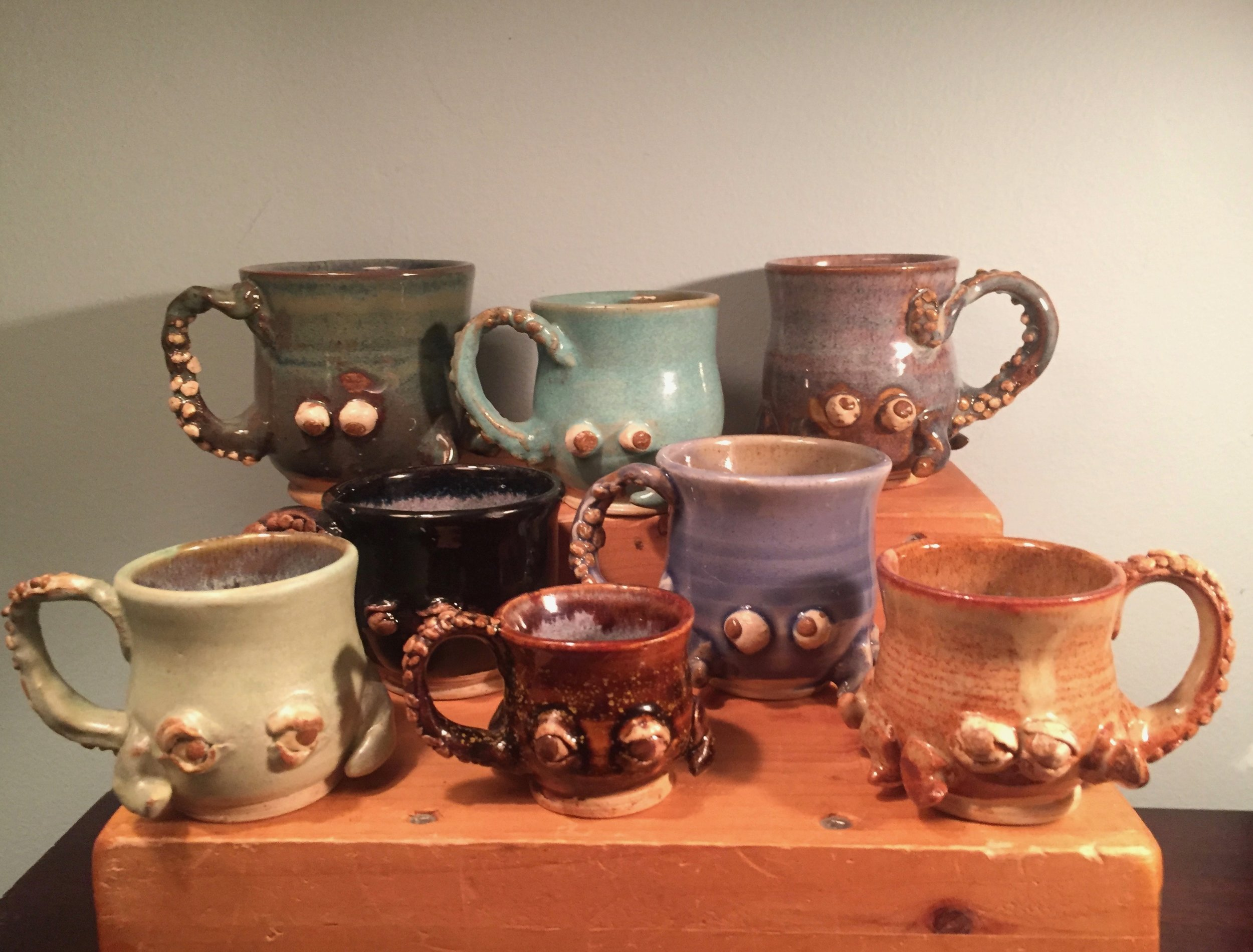 The octopus cup family