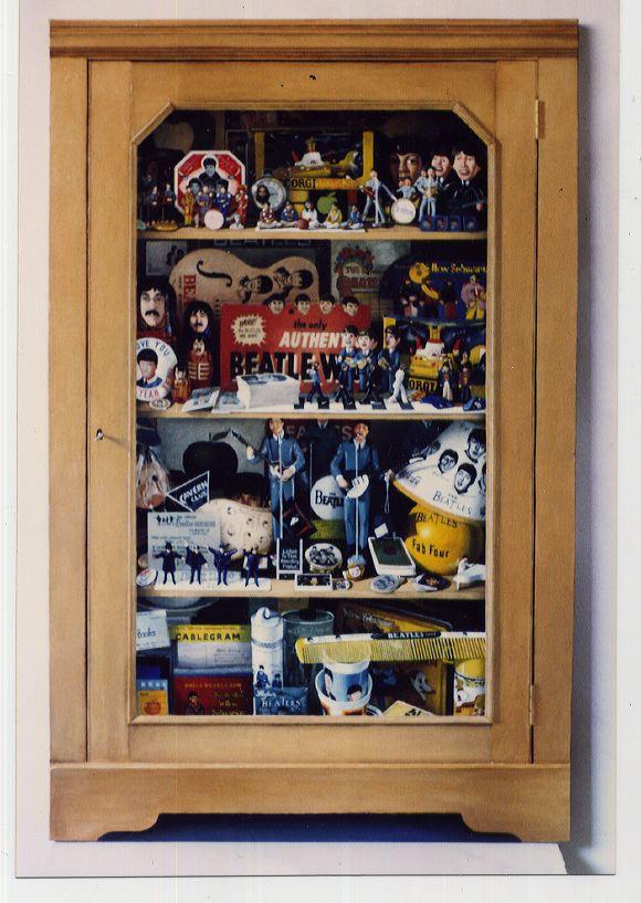 Cabinet.  Martin Grover