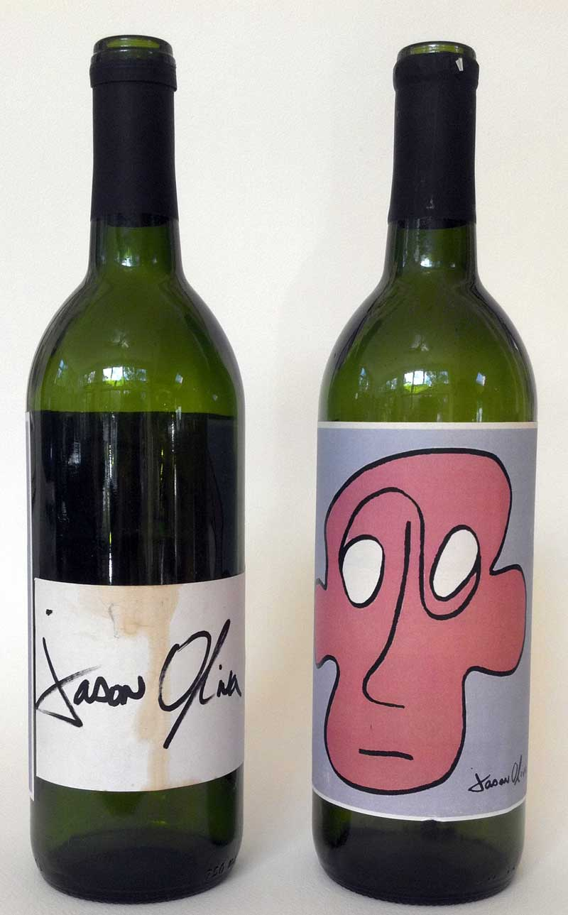 First art show. First wine label. -
